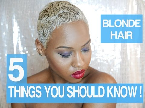 5 Things you should know before You bleach Your Hair Blonde