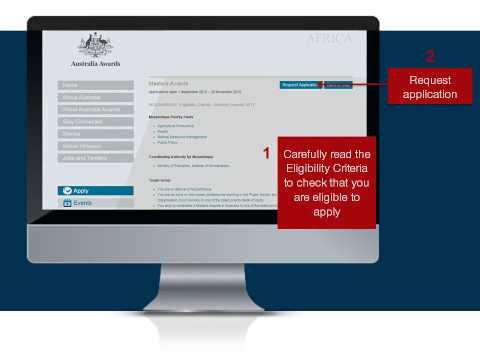 How to apply for an Australia Scholarship Award