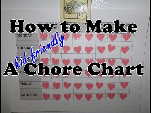 How to Make a Chore Chart | June 18th 2014 DNVlogsLife