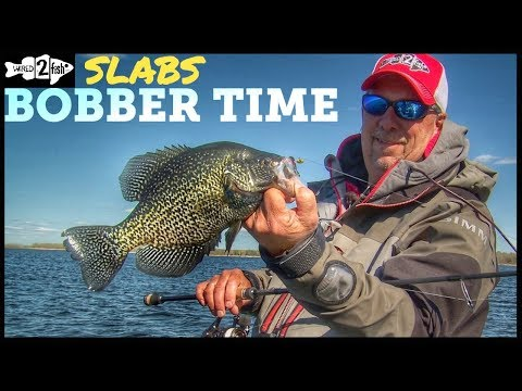 Bobber Fishing Tips for Springtime Crappie
