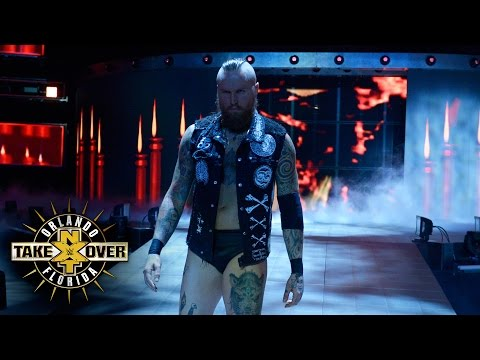 Aleister Black debuts in NXT: NXT TakeOver: Orlando (WWE Network Exclusive)