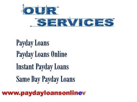 Payday loans online - So Fast Approval and without Checking Credit Record
