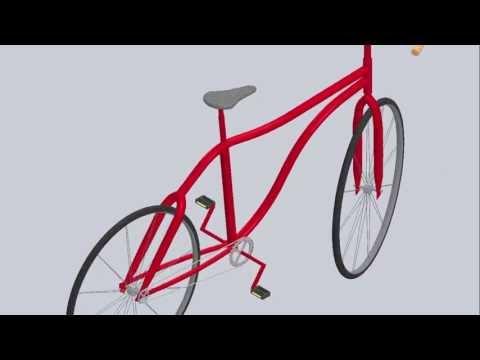 Bike Model in SolidWorks