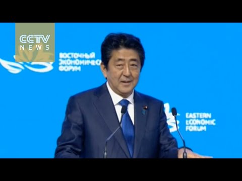 Japan-Russia ties: Abe calls for postwar peace treaty with Russia
