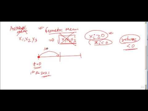 Geometric Mean Return Using Excel