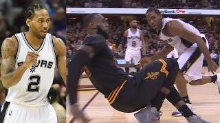 Kawhi Leonard vs LeBron James! Kawhi Career High 41 Pts! Spurs vs Cavs