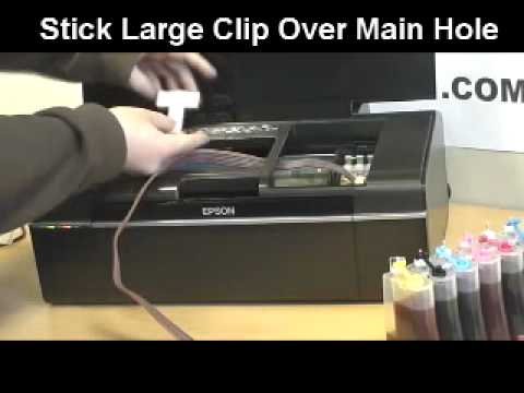 Epson Stylus P50 Photo Printer CISS (Continuous Ink System) Unboxing, Installing & Troubleshoot
