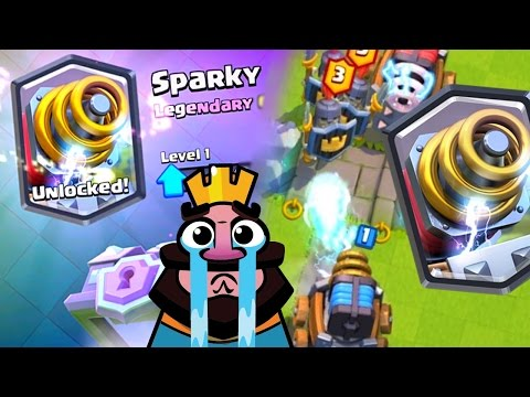 CLASH ROYALE | SPARKY is TOO DIRTY!!