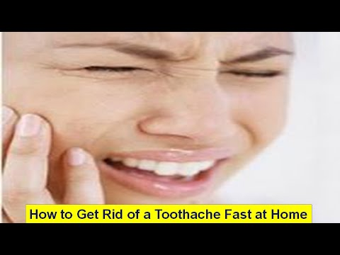 How to Get Rid of a Toothache Fast at Home