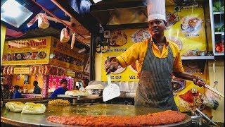 Foreigner Tries Indian Street Food In Mumbai, India   Juhu Beach Street Food Tour
