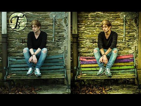 Photoshop : Rainbow Color Effect - Tutorial Speed Art