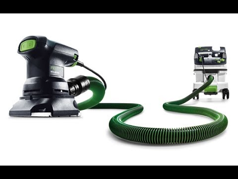 How to adapt a 36mm Festool hose to a 27mm tool connector