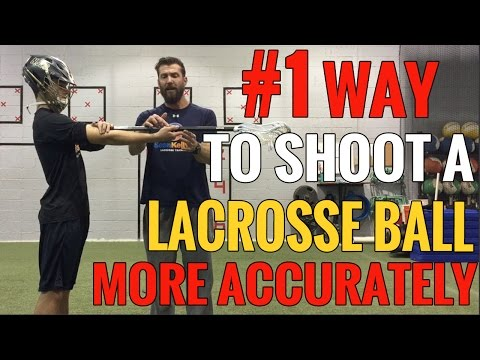 #1 Way to SHOOT A LACROSSE BALL More ACCURATELY