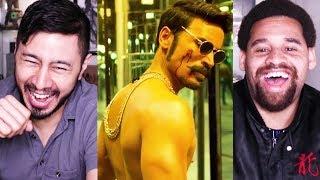 MAARI 2   Dhanush   Balaji Mohan   Trailer Reaction!