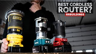 Best Cordless Routers: Toolsday with RR Buildings