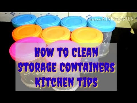 Cleaning Plastic Containers: How to Clean Plastic Food Storage Items Fast & Easy