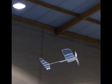 Building a Mini-Stick model airplane for indoor flying