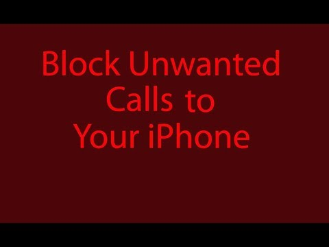 Block unwanted calls to your iPhone - GoldenYearsGeek.com