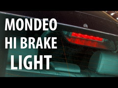 How to: Replace high level brake light bulbs (Ford Mondeo Mk3)