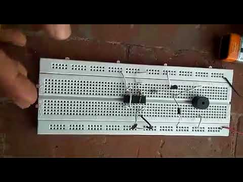 Security Alarm by using NAND Gate
