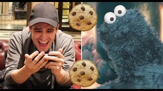 "Brendon Urie Reacts To Cookie Monster's ""Victorious"" Panic! Cover"