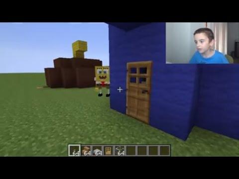 Minecraft Spongebob mod and spongebob s house