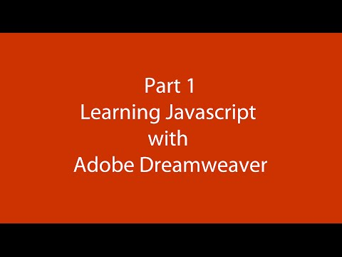 Changing font size of unordered list using Javascript in Dreamweaver Part 1