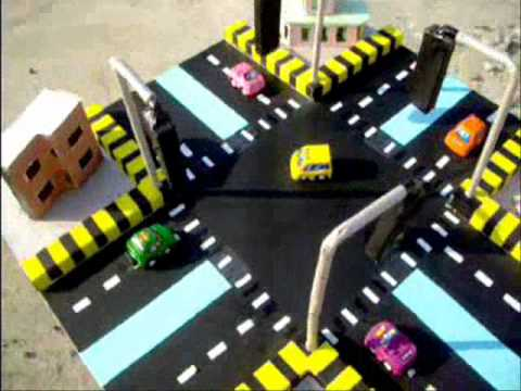 Traffic Signals Project By Students of HITEC UNIVERSITY TAXILA CANTT