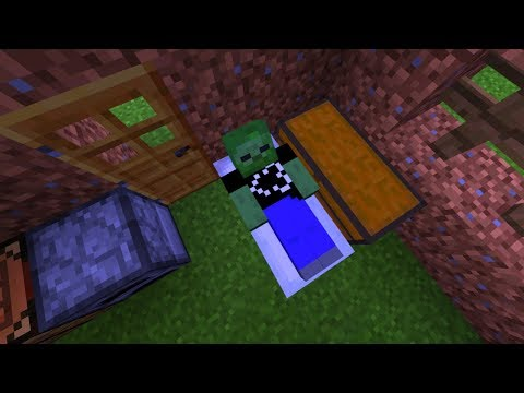 HOW TO SURVIVE THE FIRST NIGHT IN MINECRAFT! (MCPE Realms Survival Ep. 1)