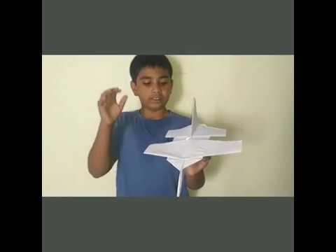 How to make a realistic aeroplane.