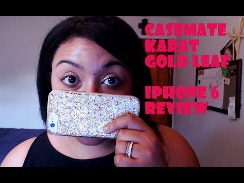 iPhone 6 | Casemate Karat - Gold Leaf Review