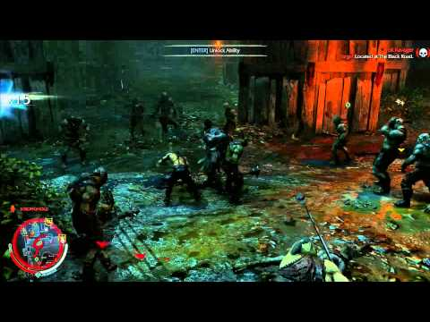 Middle Earth: Shadow of Mordor - Combat and Executions (Basement Hero vs 100 Orcs)