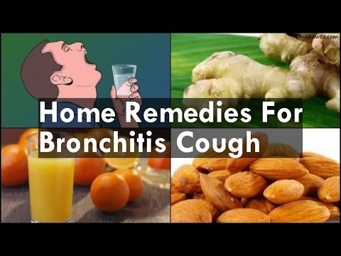 Home Remedies For Bronchitis Cough