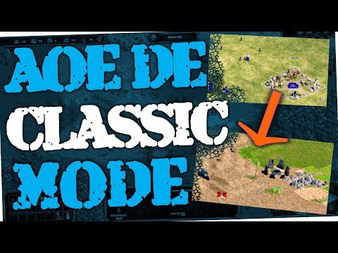 Age of Empires Definitive Edition - How to switch to Classic Mode (AoE DE)