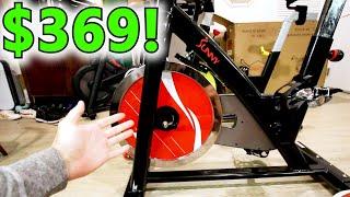 Sunny Bike SB1002 - a Popular Peloton Alternative Indoor Cycling Bike, my initial impressions review