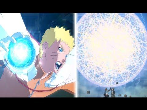 Naruto Storm 4: Hokage Naruto All Moveset,Awakening x Team Ultimate Jutsu (Boruto: The Movie DLC)
