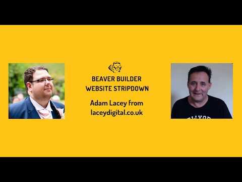 Beaver Builder Website Stripdown #12 -  Adam Lacey
