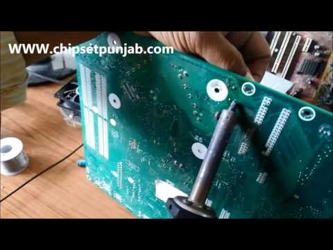 how to repair HP Motherboard