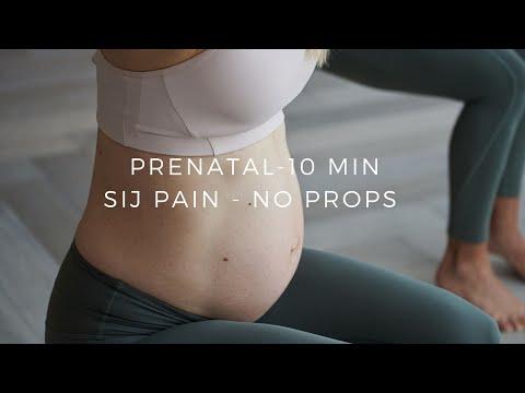 Prenatal Pilates workout - SI Joint Pain