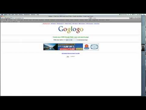 How to Change to Google Homepage To Your Name