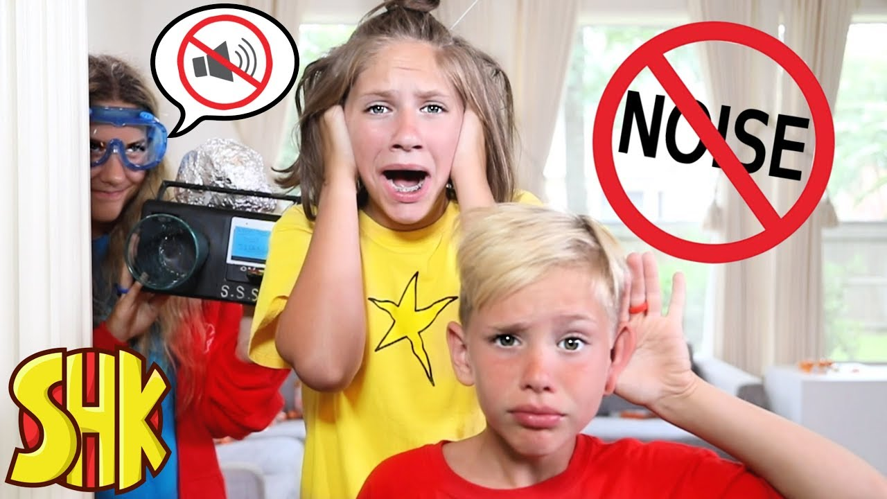 No Noise for 24 hours?! Try Not to Laugh Smashers Challenge | SuperHeroKids