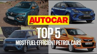 Top 5 Most Fuel-Efficient Petrol Cars in India | Feature | Autocar India