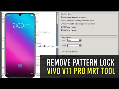 REMOVE PATTERN LOCK VIVO V11 PRO MRT TOOL - PakVim net HD