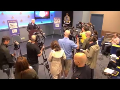 Vancouver Police Press Conference: Vancouver Police Department and CFSEU-BC announce the results ...