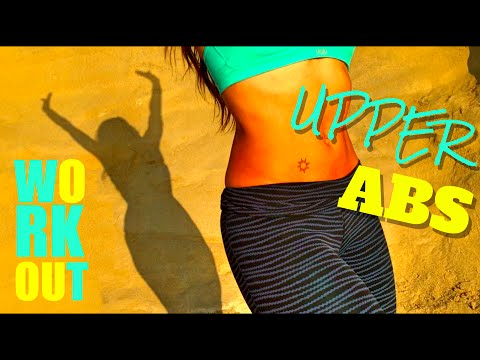 Get Rid of Fat Under the Breasts | Upper Abs Workout