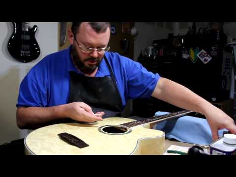 MICHAEL KELLY DRAGONFLY acoustic bass |  RATTLECAN GUITAR RESTORATIONS by James O'Rear