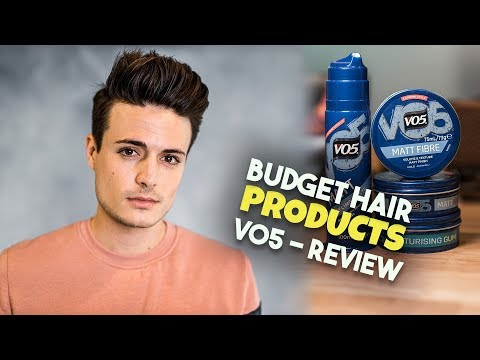 Men's Hair Budget Breakdown | Are V05 Hair Products Any Good? | BluMaan 2018