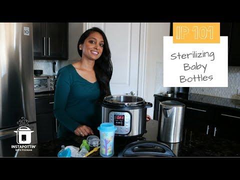 Sterilizing Baby Bottles in the Instant Pot | Episode 052