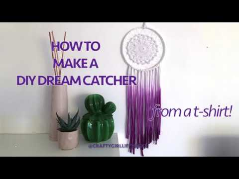 How To Make An Ombre Doily Dream Catcher