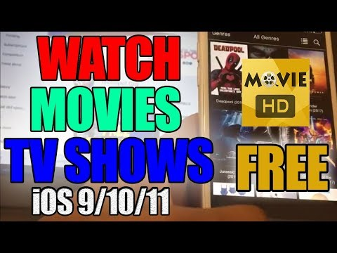 NEW Get Movie HD FREE! Watch Movies and TV Shows iOS 9 / 10 / 11 - 11.0.2 NO Jailbreak NO PCC